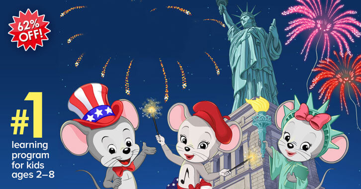 ABCmouse's Independence Day Sale is Here!