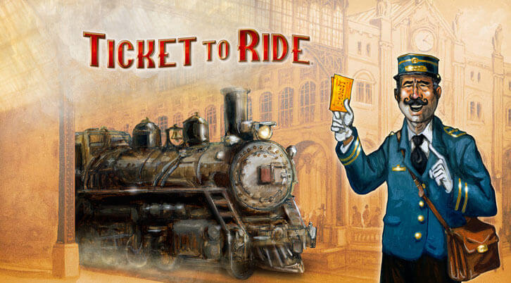 Asmodee Digital's Ticket to Ride is Available for Pre-Order on PS4