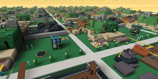 Build Youself a City in Roblox