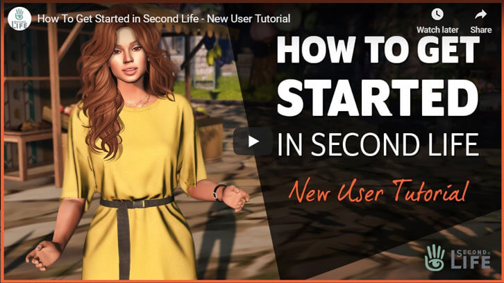 How To Get Started in Second Life - New User Tutorial