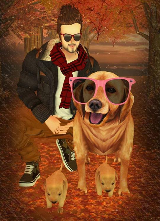 Spend Time With your Pets in IMVU