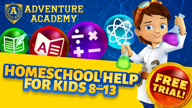Try Adventure Academy Now for 30 Days for Free!
