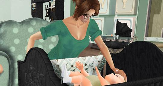 Amazing Mom & Baby in IMVU