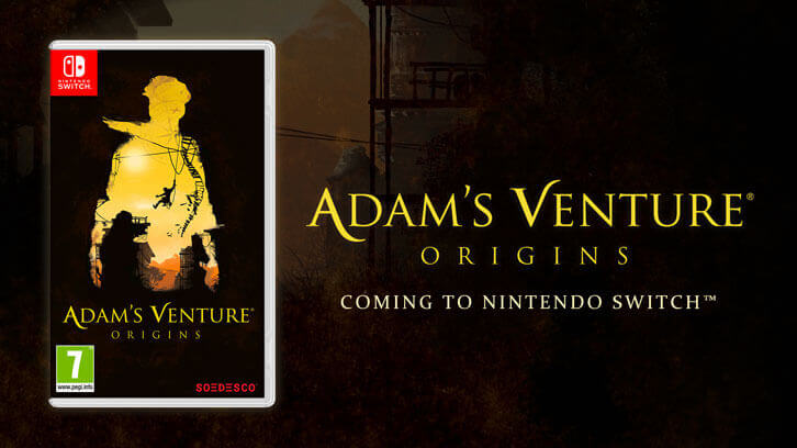 Adam's Venture: Origins is now available on Nintendo Switch