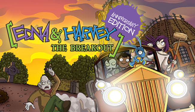 Edna & Harvey: The Breakout Breaks Out onto Consoles Today