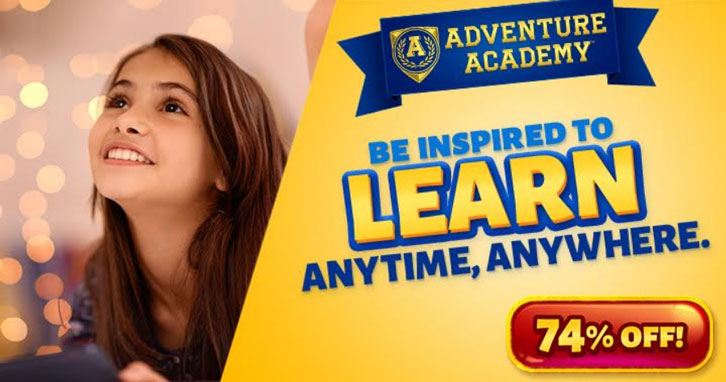 Get 2 Months of Adventure Academy for Just a Fiver!