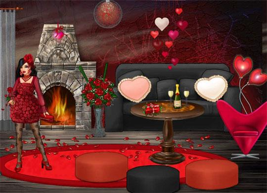 Decorating for Romance in Lady Popular