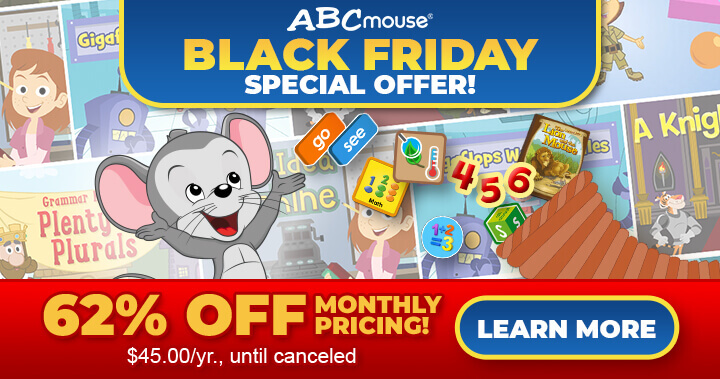 ABCmouse's Black Friday Sale is Here!