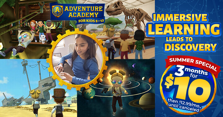 Adventure Academy new offer