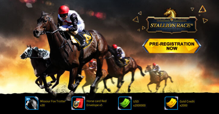 Stallion Race: Pre-Register Now and Compete With The Best