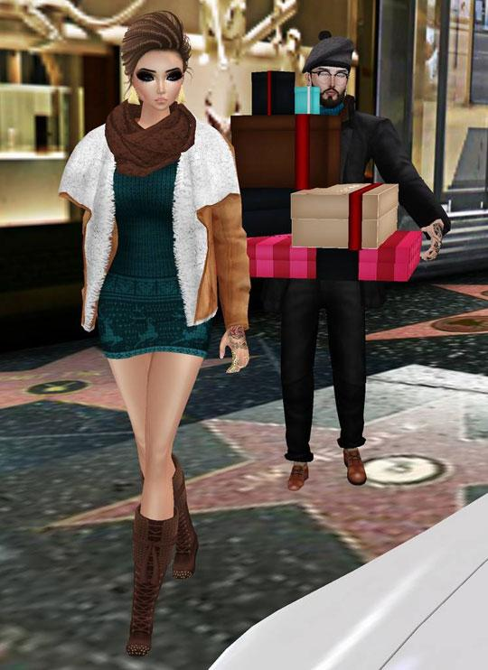 Enjoy Shopping in IMVU