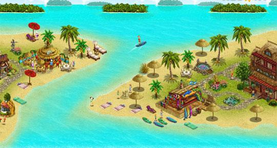Relax with My Sunny Resort