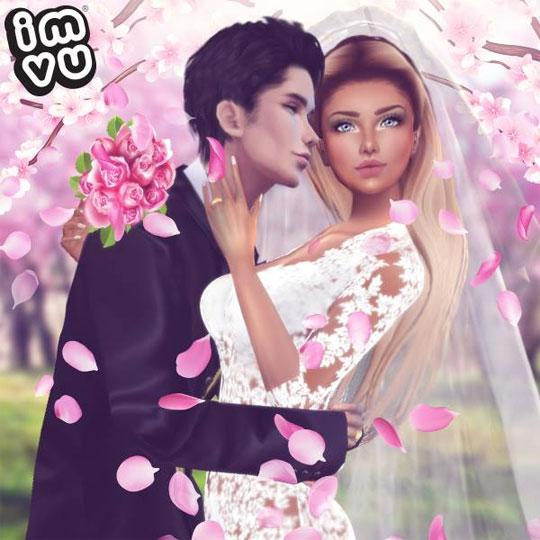 Stunning Wedding in IMVU