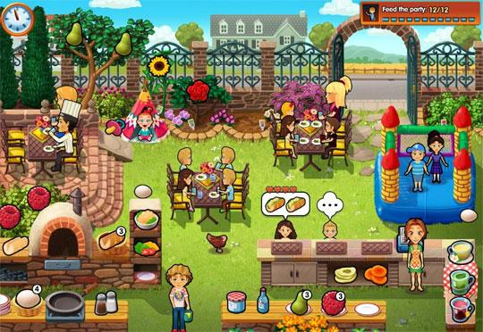 Take the Party Outside in Delicious: Emily's New Beginning