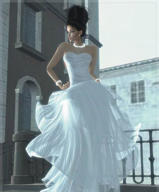 Amazing Wedding Gown in IMVU