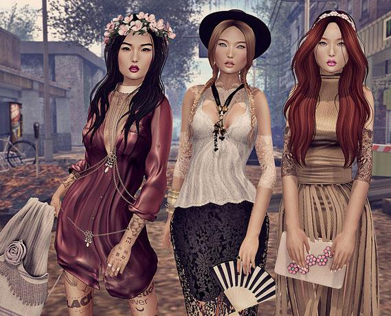 Fashionistas in Second Life
