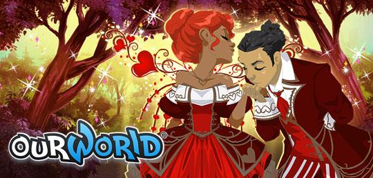 Valentine's Coming to ourWorld!