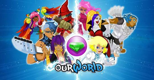 ourWorld Is Now on GameScoops