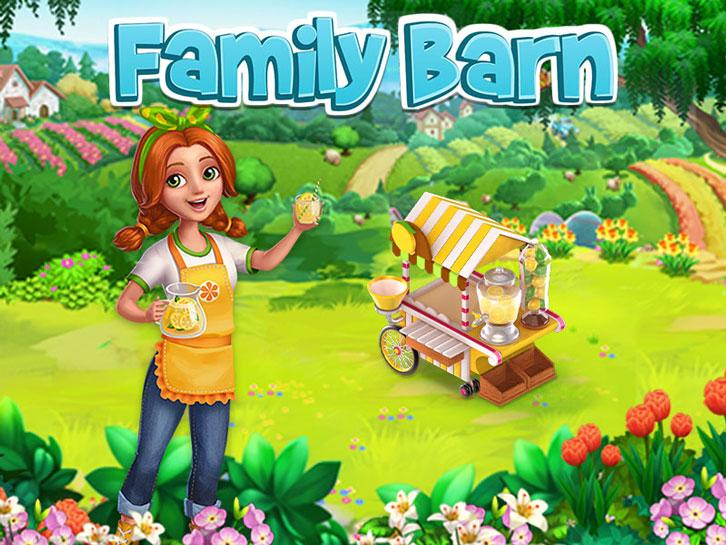 Set Up Your Lemonade Stand in Family Barn