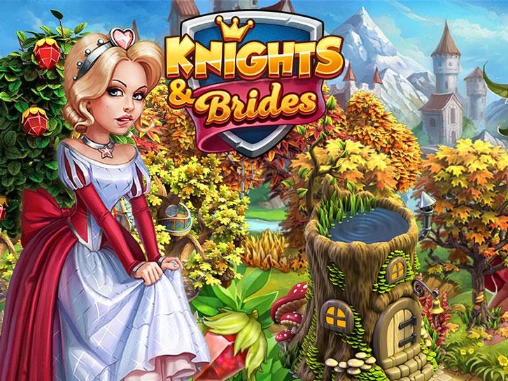 Visit the Enchanting Wondergrove in Knights and Brides