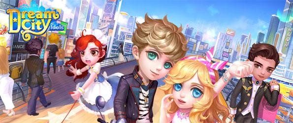 Dream City Idols - Pursue your dreams of becoming a fashion superstar in Dream City!