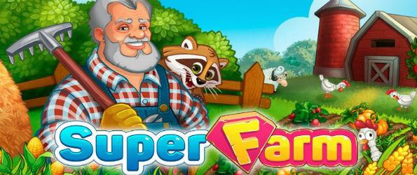 Super Farm - Super Farm works hard to make itself different from other farm games on Facebook, and it succeeds. The new and interesting elements added like the Order Center or the flying car make it a fun game you don't like to quit.