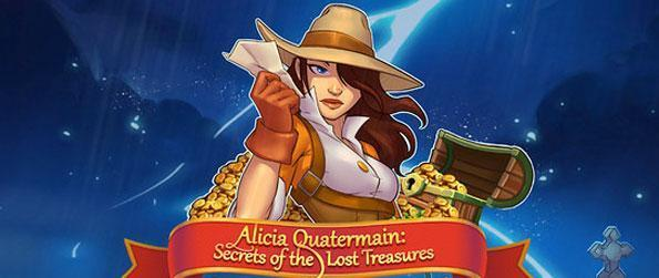 Alicia Quartermain: Secrets of The Lost Treasures - Embark on an epic journey in this captivating time management game that raises the bar.
