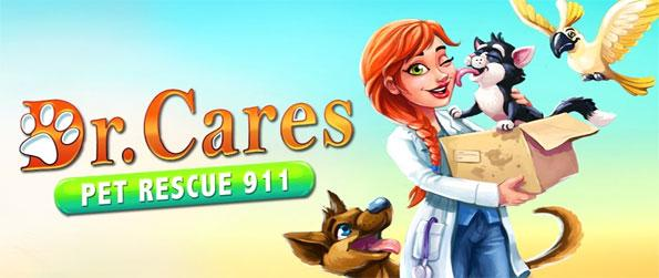 Dr. Cares Pet Rescue 911 - Enjoy this excellent time management game that impresses on every single front.