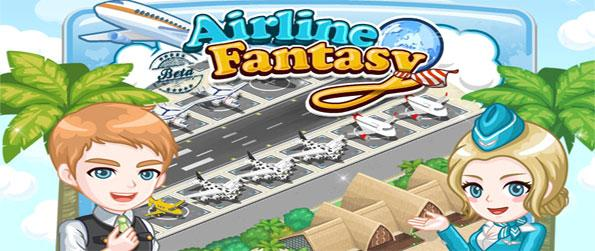 Airline Fantasy - Take to the skies as you manage your own airport and planes through this Facebook Game.