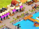 Town Village trading port