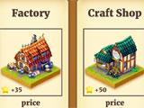 Town Village in-game shop