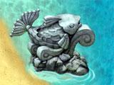 Virtual Villagers: The Tree of Life Stone Fish