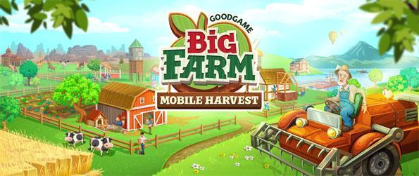 Big Farm: Mobile Harvest - Enjoy this immersive farming game that you can enjoy in the comfort of your mobile device.