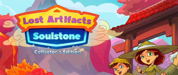 Lost Artifacts: Soulstone Collector's Edition - Solve puzzles in this amazing time management game Lost Artifacts: Soulstone Collector's Edition.