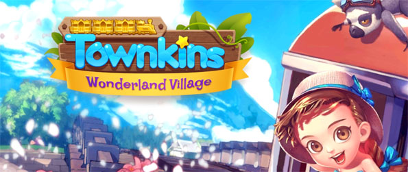 Townkins: Wonderland Village - Get hooked on this captivating simulation game that's filled with tons upon tons of fun things to do.