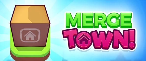 Merge Town! - Tap and manage your own town as a mayor in Merge Town!