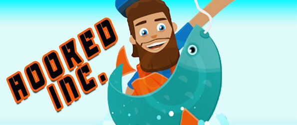 Hooked Inc: Fisher Tycoon - Swipe at fishes to capture them and keep an eye out for rare and epic fish.