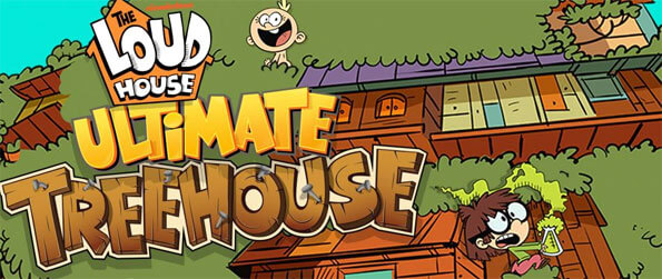 "Loud House: Ultimate Treehouse - Build up Lincoln's tree house so he can have his ""quiet time"" away from his Loud family."