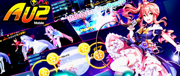 AU2 Mobile-EN  - A warm-hearted dance and rhythm game that relies on the speed of the tap and focus of the player.