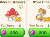 Booster Items in Crazy Chef