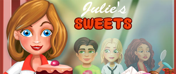 Julie's Sweets - Help Julie as she tries to serve a variety of tasty treats to all her customers.