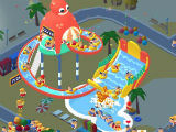 The Amazing Octo Slide in Idle Aqua Park