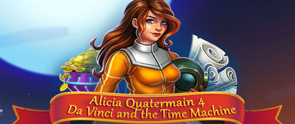 Alicia Quatermain: 4 Da Vinci - Enjoy this exciting time management game in which you'll have to embark on a journey across time.