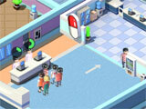 Idle Hospital Tycoon serving patients