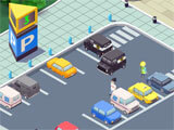 Idle Hospital Tycoon upgrading the parking space