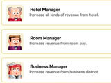 Super Hotel Tycoon hiring management