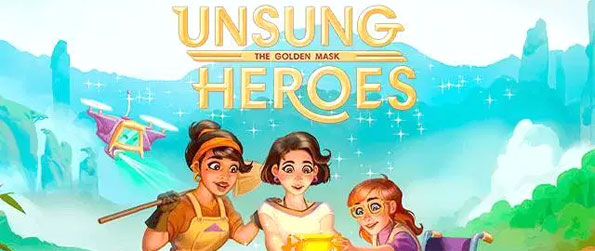Unsung Heroes – The Golden Mask - Play this epic time management game that'll take you on a memorable and epic journey.