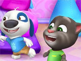 My Talking Tom Friends fun times