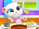 My Talking Tom Friends time to eat