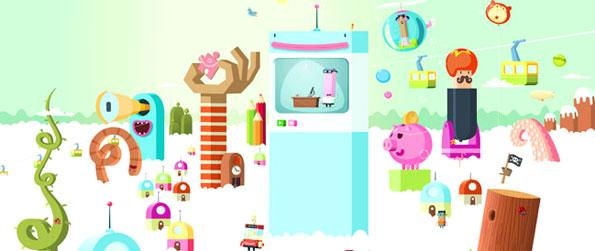 Webbli World - Join the fun in Webbli World and play lots of fun games as you decorate your own WebbliPod